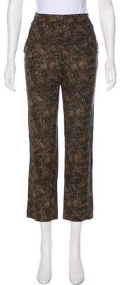Rachel Comey Mid-Rise Silk Pants