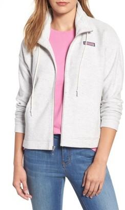 Women's Vineyard Vines Funnel Neck Zip Jacket $118 thestylecure.com