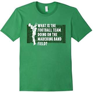 Marching Band Field Shirt Funny Football Players Music Gift