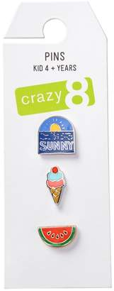 Crazy 8 Sunny Pins 3-Pack