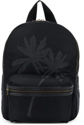 Tomas Maier palm print backpack