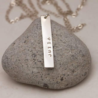 Lulu + Belle Gold Or Silver My Name Necklace