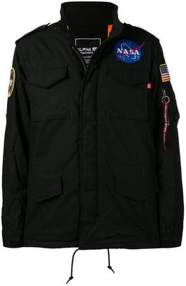 Alpha Industries Nasa badge patch jacket
