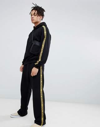 Cheap Monday Logo Taped Sweatpants Black TWO-PIECE