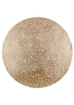 Ladelle Alto Gold Round Placemat