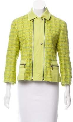 Akris Punto Textured Silk Jacket