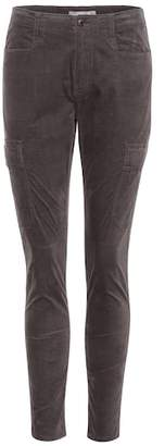 Vince Stretch-cotton trousers