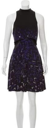 ABS by Allen Schwartz Sleeveless Mini Print Dress
