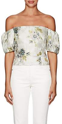 Brock Collection Women's Boie Floral Off-The-Shoulder Blouse
