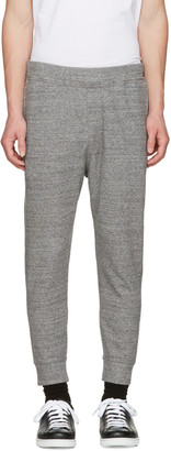 Dsquared2 Grey French Terry Lounge Pants $465 thestylecure.com