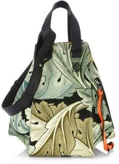 Loewe Hammock Camo Top Handle Bag