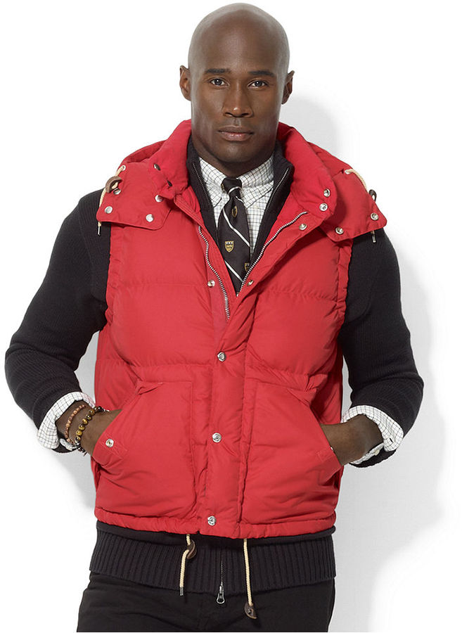Polo Ralph Lauren Big and Tall Vest, Elmwood Down Vest