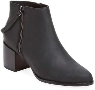 Matt Bernson Caspian Double Zip Leather Bootie