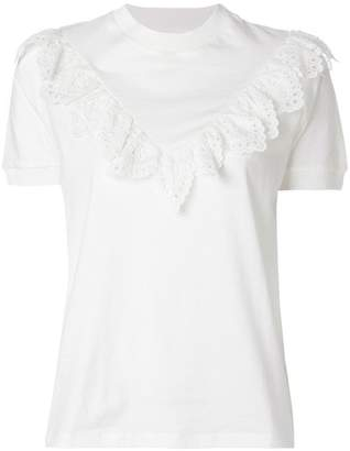 Zimmermann Corsair Frill T-shirt