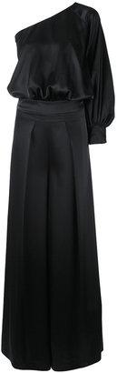 off-shoulder maxi jumpsuit