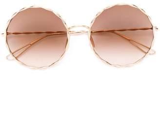 Elie Saab round framed sunglasses