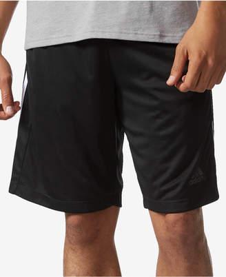 "adidas Men's 10"" D2M 3-Stripe Training Shorts"
