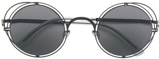 Mykita X Maison Margiela round tinted sunglasses