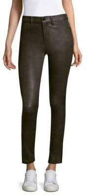 Frame Skinny Leather Pants