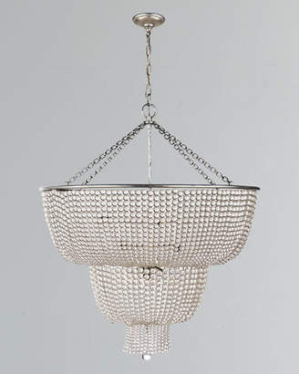 AERIN Jacqueline Two-Tier Chandelier