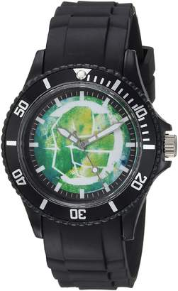 Marvel Men's 'Classic' Quartz Plastic Casual Watch, Color: (Model: WMA000065)