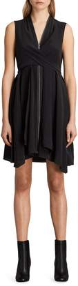 AllSaints Jayda Silk Dress