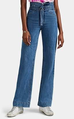 J Brand Women's Sukey High-Rise Wide-Leg Jeans - Blue