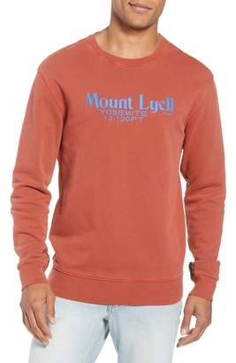 Frame Slim Fit Mount Lyell Graphic Sweatshirt