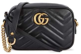 Gucci GG Marmont Mini Leather Shoulder Bag
