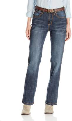 Wrangler Women's Aura From The Women at Slender Stretch Jean
