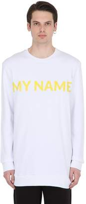 Numero 00 My Name Printed Sweatshirt