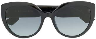 Christian Dior oversize cat eye sunglasses