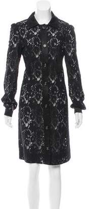 Dolce & Gabbana Lace Shirt Dress