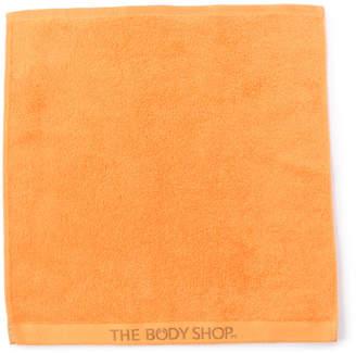 The Body Shop (ザ ボディショップ) - ザ・ボディショップ オーガニックコットンハンドタオル オレンジ
