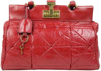 Marc Jacobs Red Leather Handbag