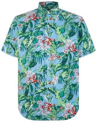 Polo Ralph Lauren Hawaiian Print Oxford Shirt