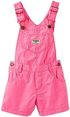Osh Kosh Shortall (Baby) - Pink-9 Months by