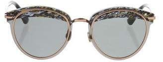 Christian Dior Marbled Tinted Sunglasses