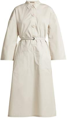 Bottega Veneta Tie-waist cotton shirtdress
