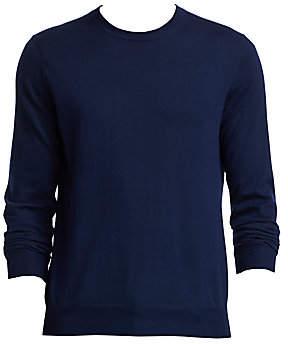 54229c3eb5f Saks Fifth Avenue Crewneck Lightweight Cashmere Sweater