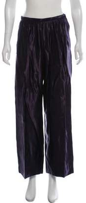 Dries Van Noten High-Rise Wide-Leg Pants w/ Tags