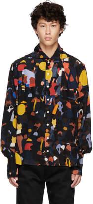 Wales Bonner Multicolor Evening Placket Sailor Shirt