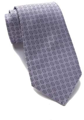 Calvin Klein Silk Star Medallion Tie