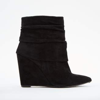 BA&SH Black Suede Ankle boots