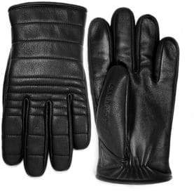 Canada Goose Quilted Luxe Leather Gloves