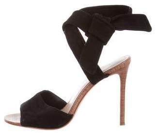 Pour La Victoire Suede High-Heel Sandals