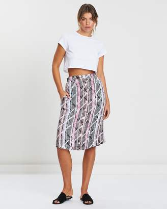Volcom Get To Steppin Skirt