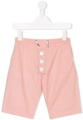 Marni button detail drawstring shorts