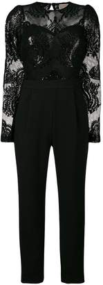 MICHAEL Michael Kors sequin embroidered jumpsuit