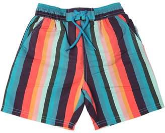 Paul Smith Striped Nylon Swim Shorts